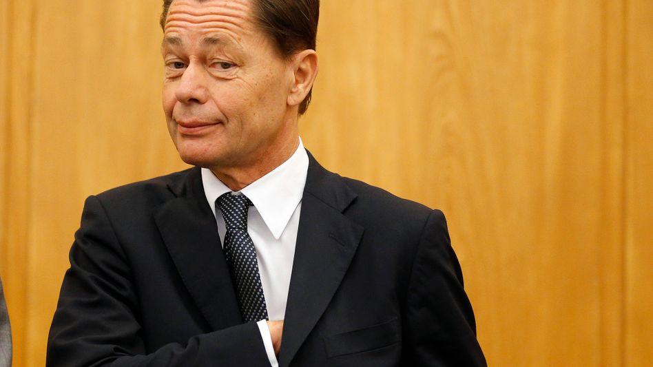 Jagd nach dem Restvermögen des gefallenen Stars: Thomas Middelhoff im Essener Gerichtssaal im November