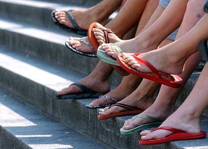 Flip-Flops: Wieder belebte Badelatschen