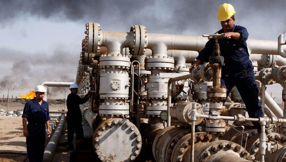 Die OPEC pumpt weiter: Erst wenn noch weitere US-Frackingunternehmen aufgegeben haben, wird das Kartell die Förderung drosseln