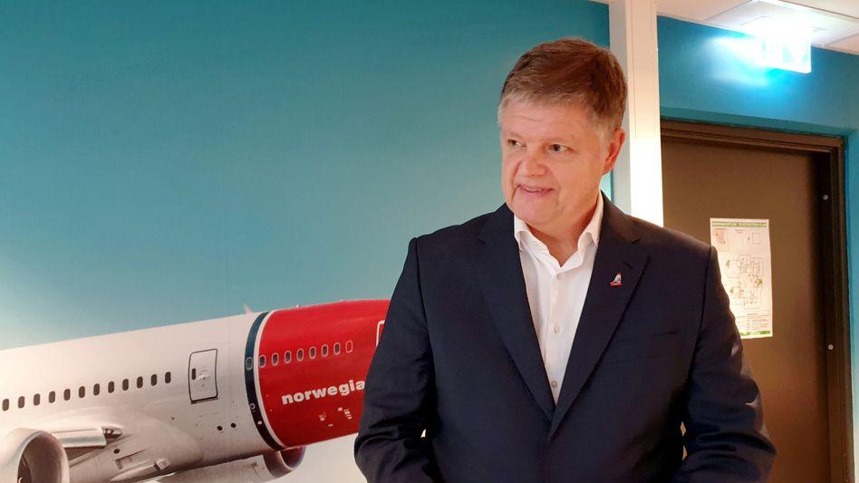Entlassung ohne Angabe von Gründen: Norwegian-Chef Jacob Schram muss das Unternehmen verlassen