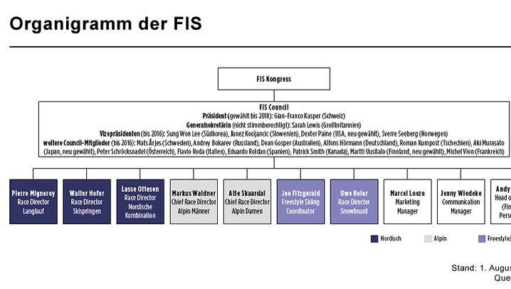 Internationaler Skiverband: Erträge und Struktur des FIS im Überblick