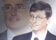 Ron Sommer bandelt mit Bill Gates an
