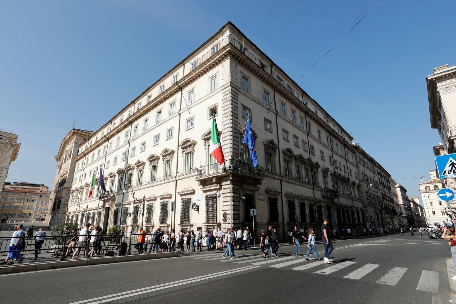 Italien/ Rom/ Regierung