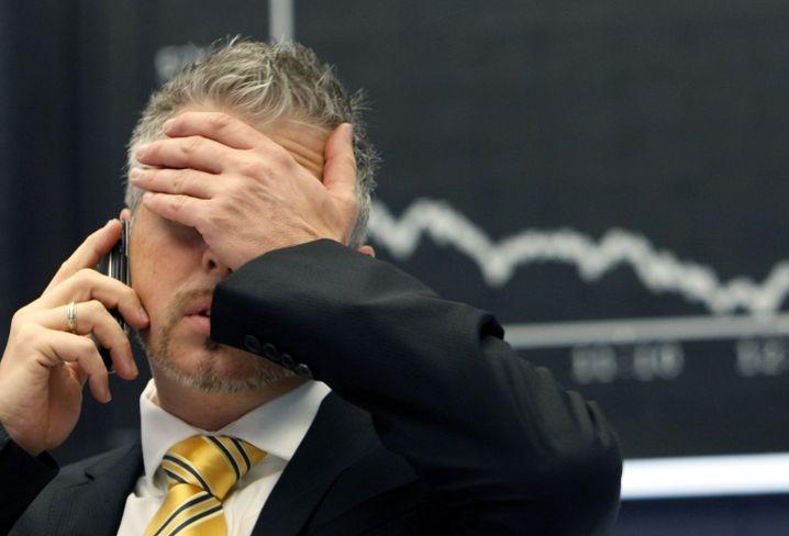 """Kursrutsch: Sollte es tatsächlich zum """"Grexit"""" kommen, werde der Dax zunächst einmal 5 bis 7 Prozent abrutschen, mutmaßen einzelne Experten"""