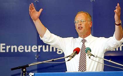 Stolperte über die Hunzinger-Affäre: Rudolf Scharping