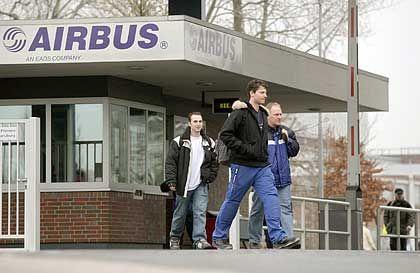 Auf der Verkaufsliste: Neben dem Airbus-Werk in Nordenham (Bild) stehen auch die Standorte Varel, Laupheim und Augsburg zum Verkauf