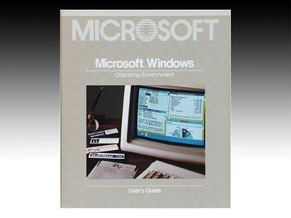 Windows 1.0: Damals noch mit gedrucktem Handbuch