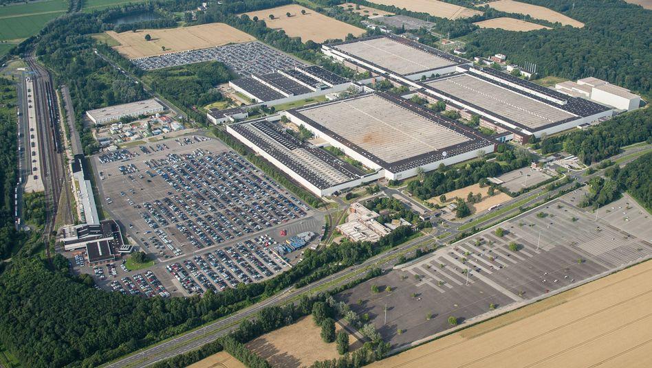 Volkswagen-Werk in Salzgitter: Das hier geplante Batteriezell-Werk soll deutlich erweitert werden. Gemeinsam mit dem Partner Northvolt will VW drei Produktionslinien für bis zu 24 Gigawattstunden aufbauen