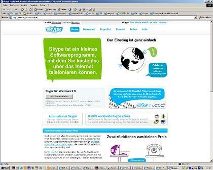 Ebay-Engagement: Der IP-Anbieter Skype