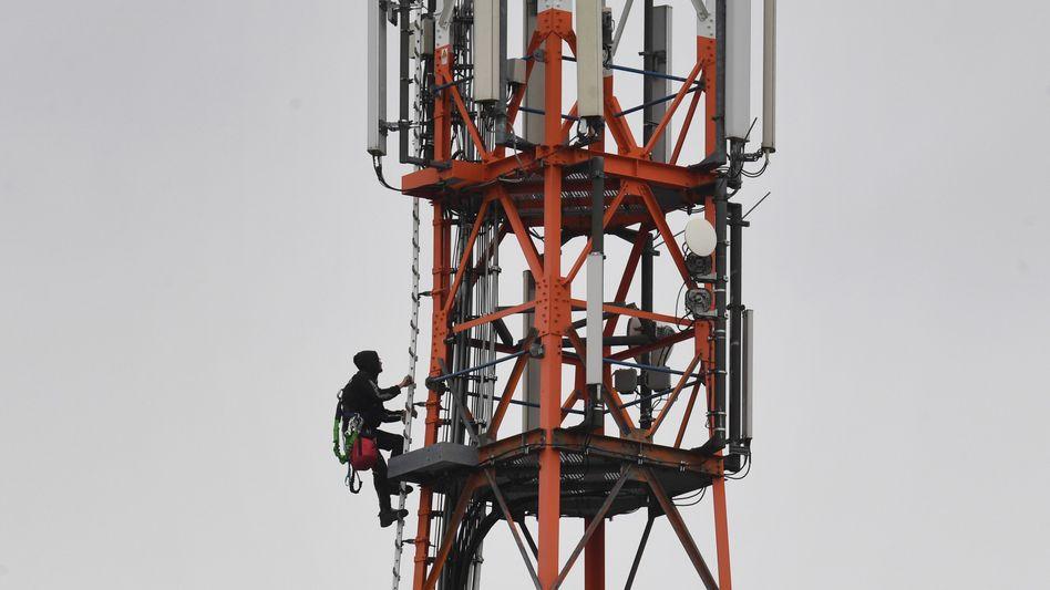 Mobilfunkmast von Vodafone auf Usedom: Der britische Telekom-Riese will die Sparte zum Teil an die Börse bringen
