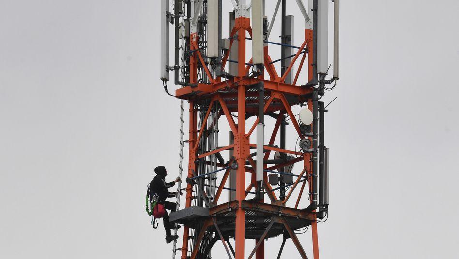 Mobilfunkmast von Vodafone auf Usedom: Der britische Telekomriese will die Sparte an die Börse bringen