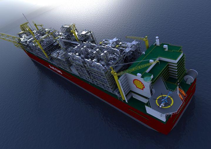 Gastanker von Shell: Der Ölmulti und der mit rund 43 Milliarden Euro bewertete Gashersteller BG Group wollen fusionieren