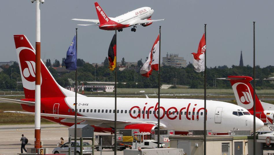Drückender Schuldenberg: Air Berlin kassiert die eigenen Jahresziele