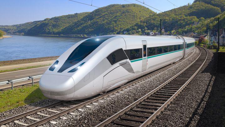 Siemens neuer Hochgeschwindigkeitszug Velaro Novo: Schneller, leichter, größer