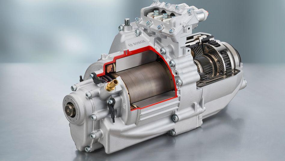 Elektromotoren: Ab 2012 wollen Bosch und Daimler die Motoren in Hildesheim und Stuttgart bauen