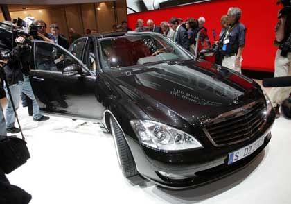 Einer der Publikumsmagneten: Neue Mercedes S-Klasse