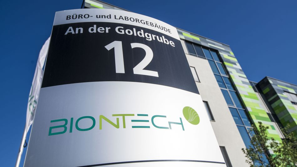 Hauptquartier von Biontech in Mainz