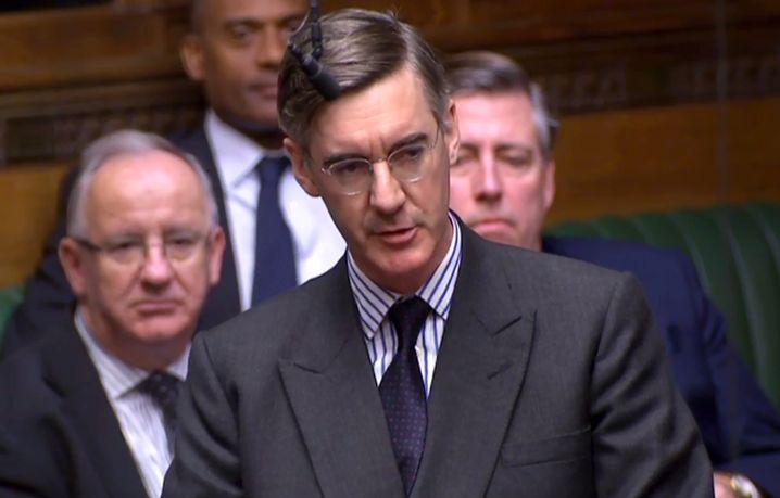 Jacob Rees-Mogg: Der Herr mit dem strengen Scheitel will ein Misstrauensvotum gegen Theresa May beantragen