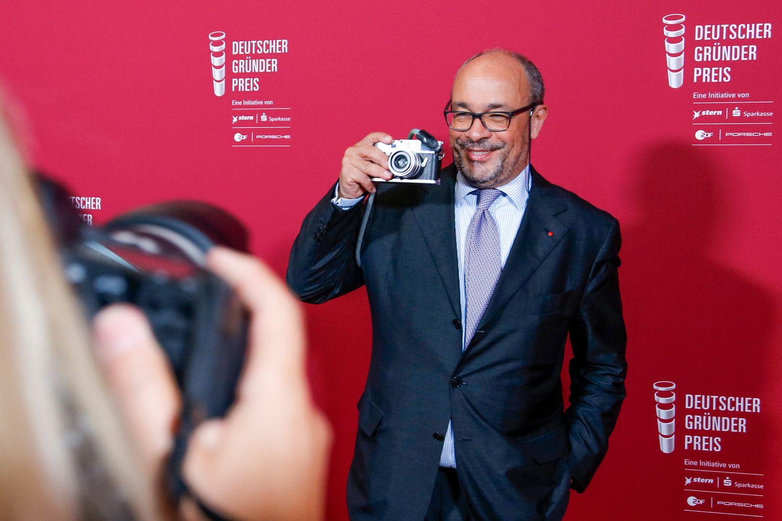 Deutscher Gruenderpreis 2017 In Berlin