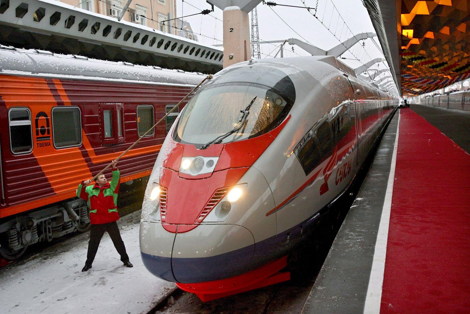 Russian railway; Zug