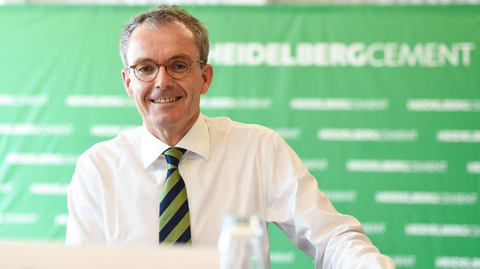 """""""Das spült ordentlich in die Kasse"""": Bernd Scheifele, Chef des Baustoffkonzerns HeidelbergCement, kann einer Mauer an der Grenze zu Mexiko auch viel Gutes abgewinnen"""