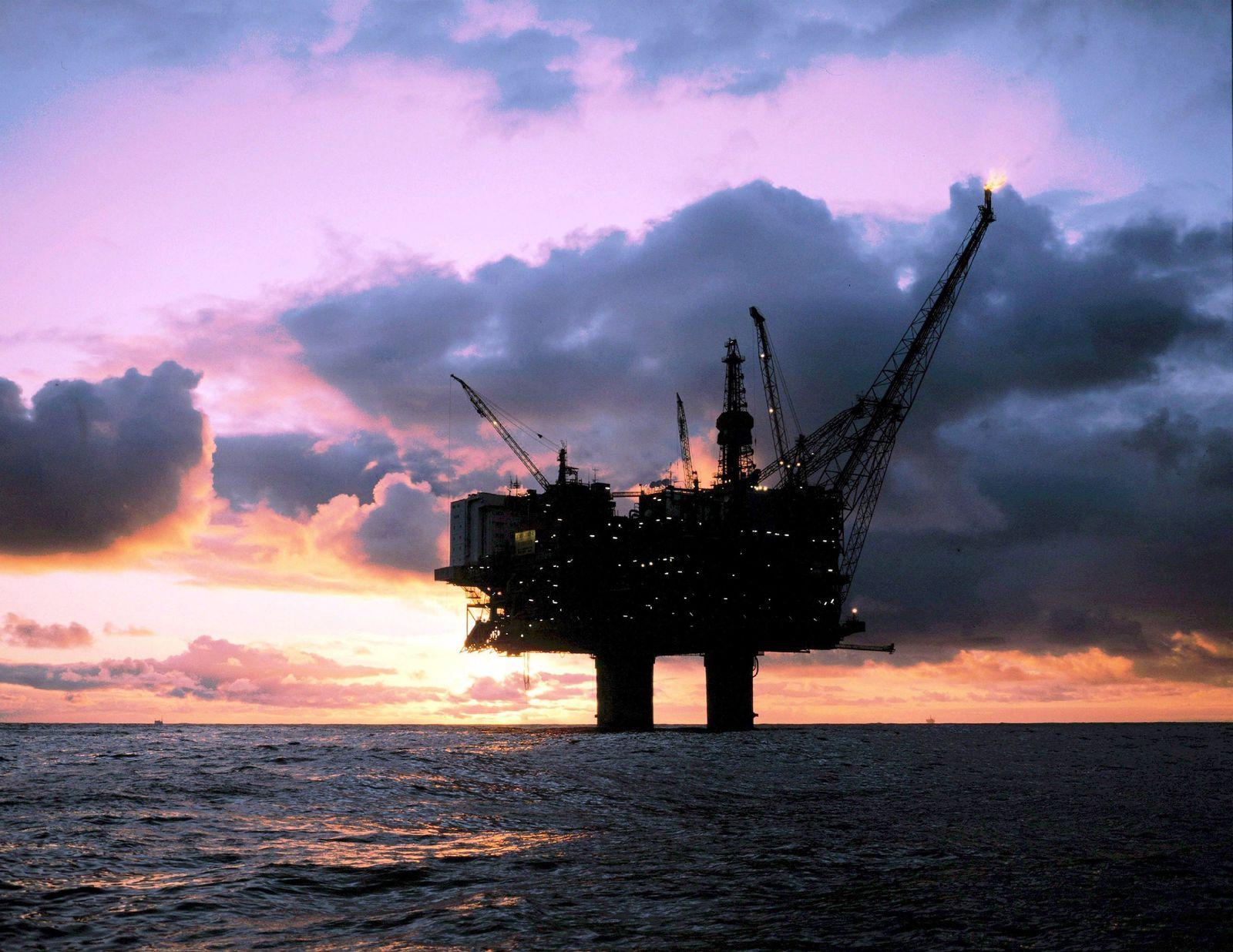 Ölpest / Nordsee / Bohrinsel