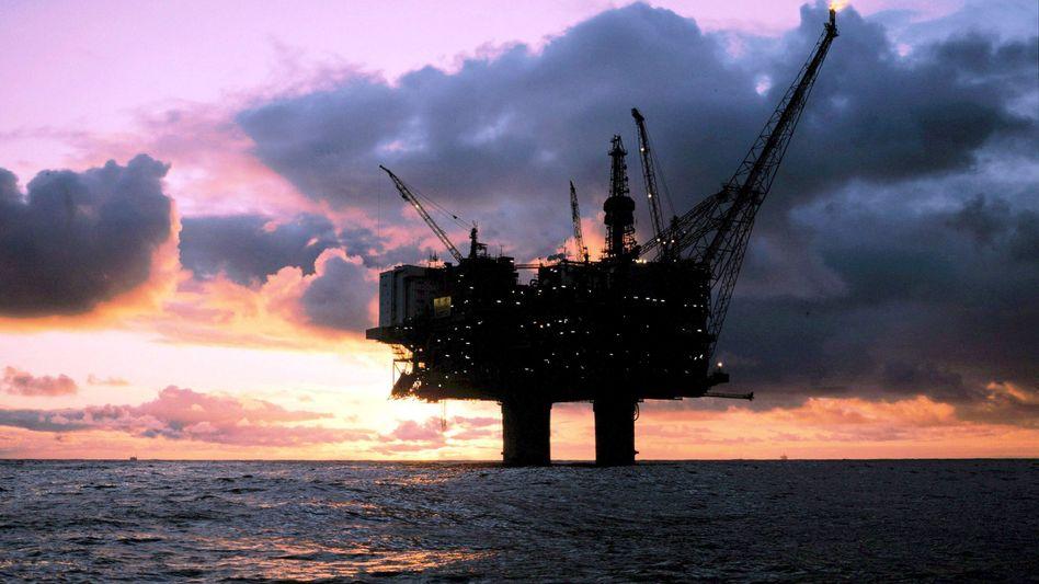Förderstopp beendet: Auf den Plattformen des norwegischen Ölkonzerns Statoil wird weitergearbeitet