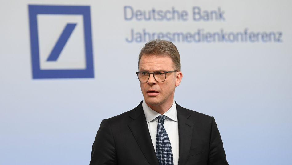 Deutsche-Bank-Chef Christian Sewing will bis 2025 keine Geschäfte aus dem Bereich Kohleabbau mehr finanzieren