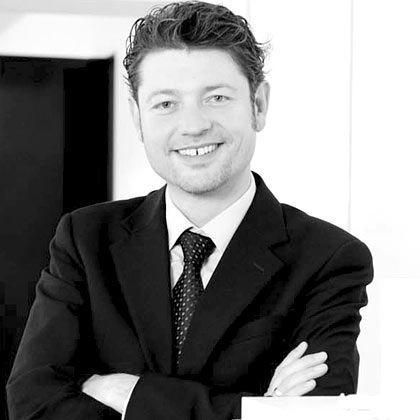 Claus Fischer, 38, ist alleiniger Gesellschafter und Geschäftsführer des Architekturbüros Fischer Architekten mit 30 Mitarbeitern in Mannheim und Köln