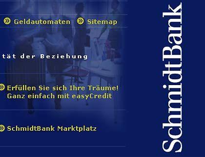 Ende einer Geschichte: SchmidtBank
