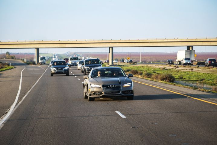 "Audi-Forschungsauto ""Jack"": Legt 900 Kilometer autonom zurück - mit Journalisten an Bord"