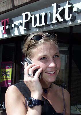 T-Mobile bleibt in Deutschland Marktführer: T-Punkt-Shop der Deutschen Telekom