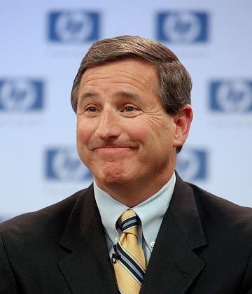 HP-Chef Hurd ist froh:Mit dem neuem Vertriebschef will er Nummer eins bleiben