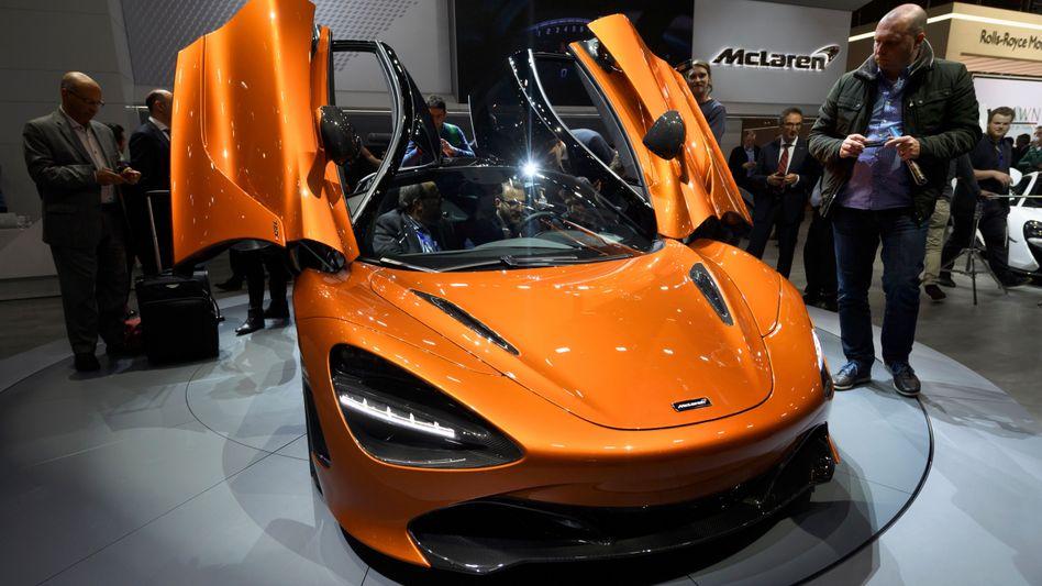 Scherentüren, aber noch wenig E beim Antrieb: Der Sportwagenbauer McLaren holt sich zwei erfahrene deutsche Automanager in den Aufsichtsrat