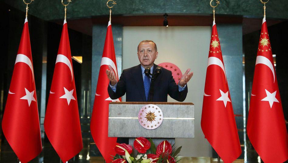 Türkischer Präsident Erdogan: Samsung oder Vestel statt iPhone
