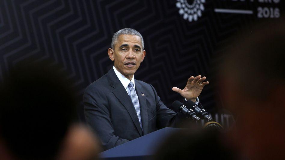 Nicht mit ihm: US-Präsident Barack Obama verbietet den Verkauf des deutschen Mittelständlers Aixtron.