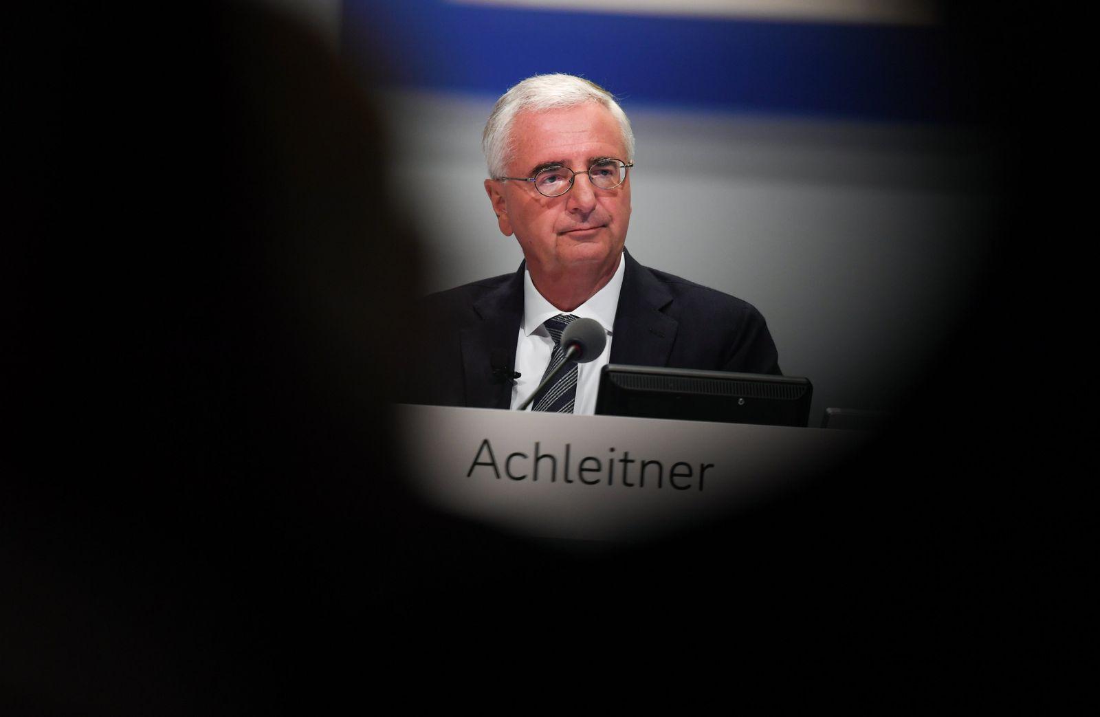 Hauptversammlung Deutsche Bank / Paul Achleitner