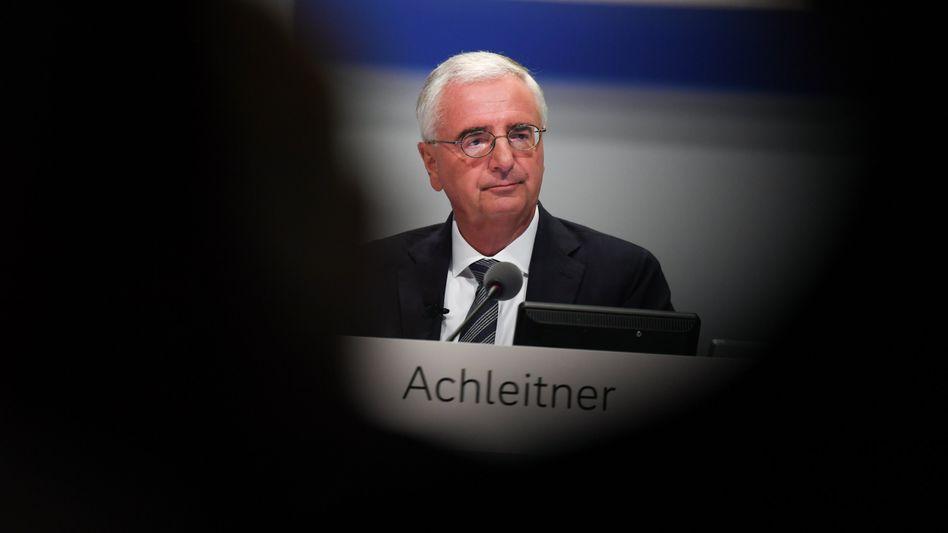 Paul Achleitner: Der Aufsichtsratschef der Deutschen Bank gerät unter Druck