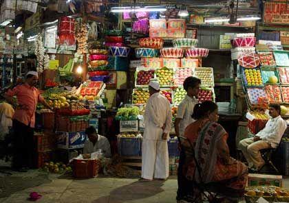 Trotz leiser Töne:In Indien wird gefeilscht
