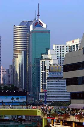 Shenzhen: Wolkenkratzer dominieren die Skyline