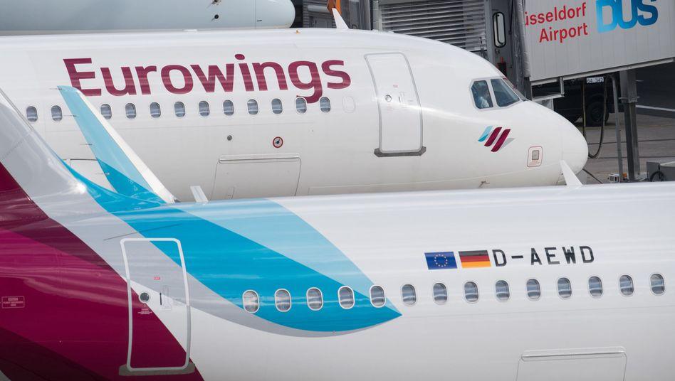 Die Lufthansa-Tochter Eurowings kooperiert mit Aldi
