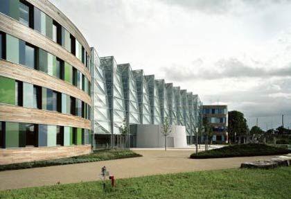 Ökoschick: Das Umweltbundesamt in Dessau wurde sowohl für seine Optik als auch sein nachhaltiges Konzept ausgezeichnet