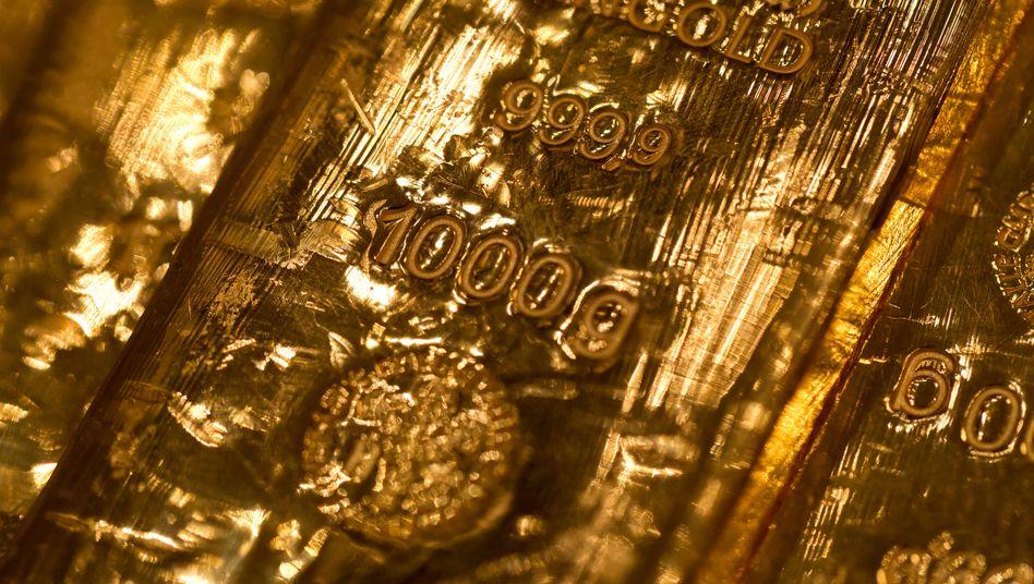 Gold aus der Nähe: Das Edelmetall ist in Krisenzeiten gefragt.