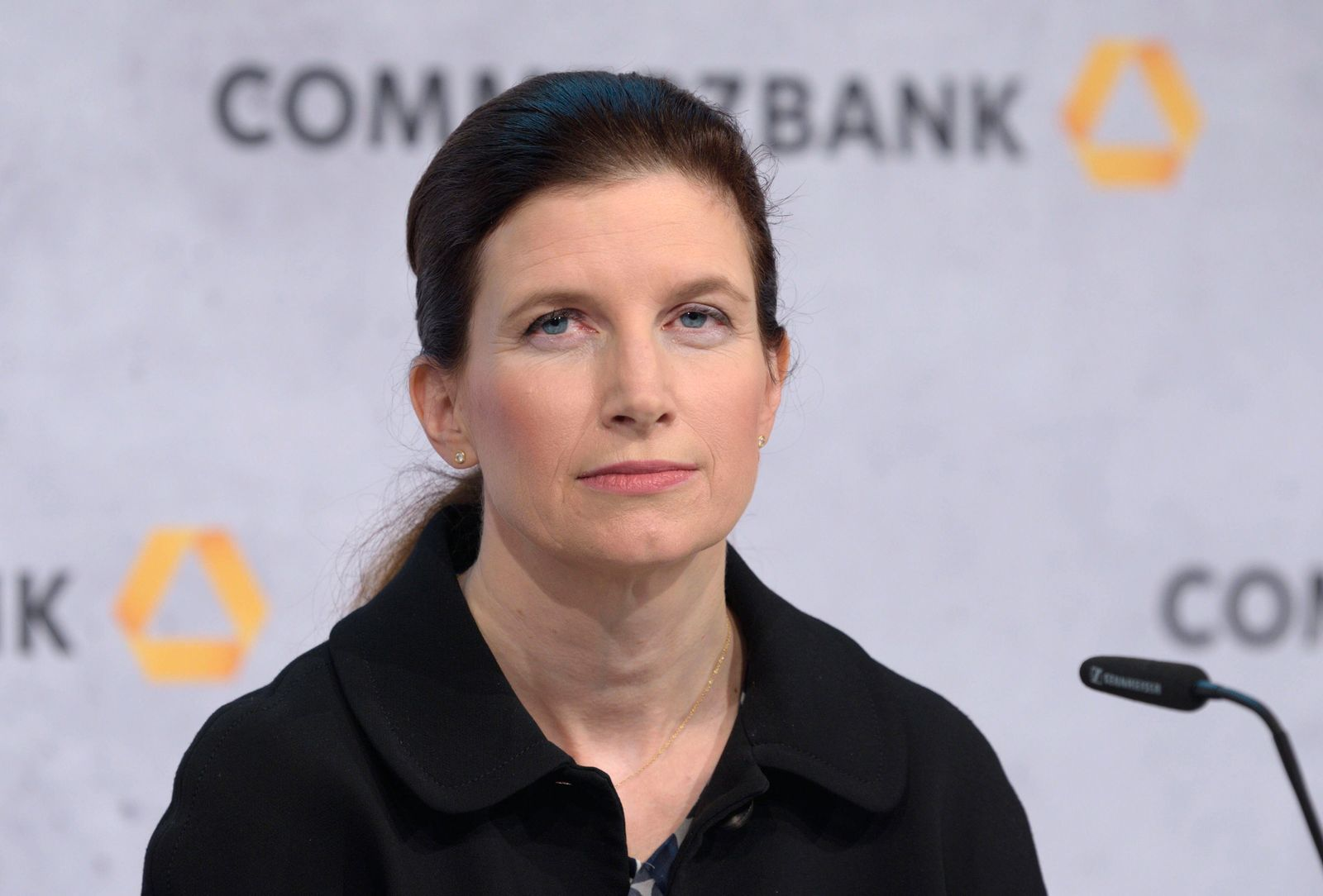 Bilanzpressekonferenz der Commerzbank AG am 13.02.2020 : Bettina ORLOPP , Finanzvorstand Annual press conference of Comm