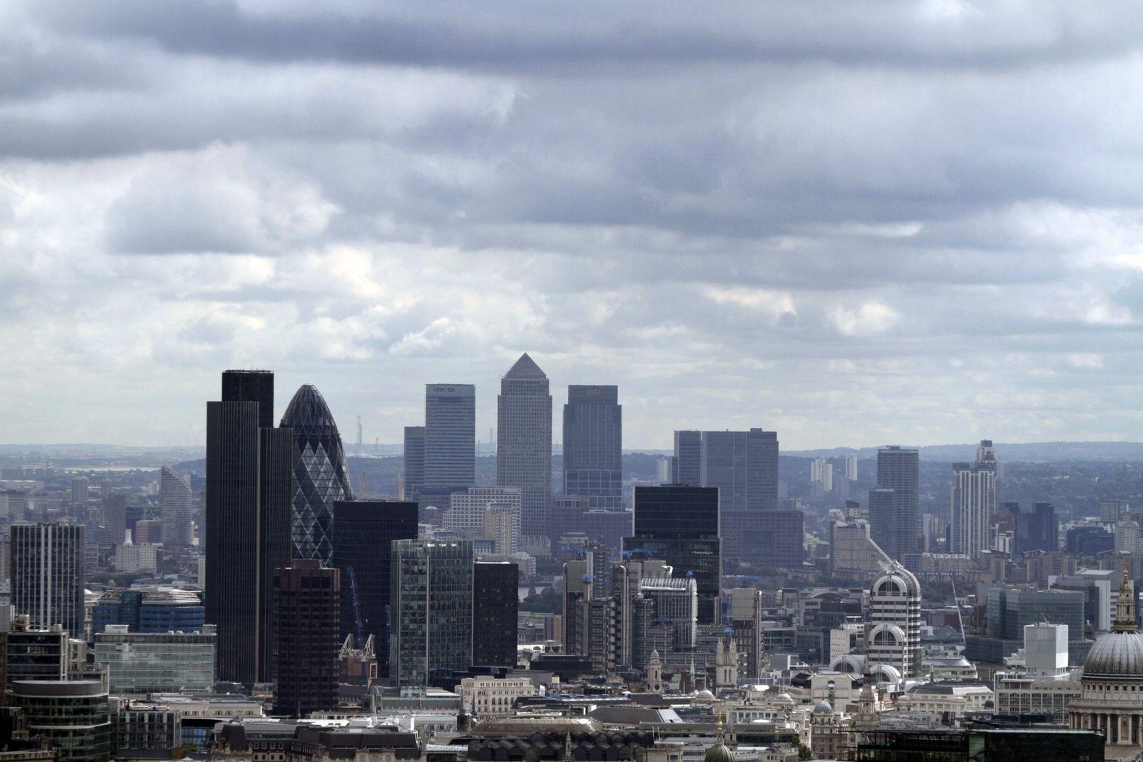 London/ Skyline Bankenviertel