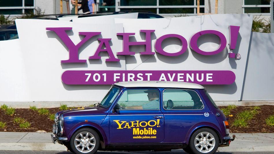 Yahoo-Zentrale in Sunnyvale: Käufer auf der Pirsch