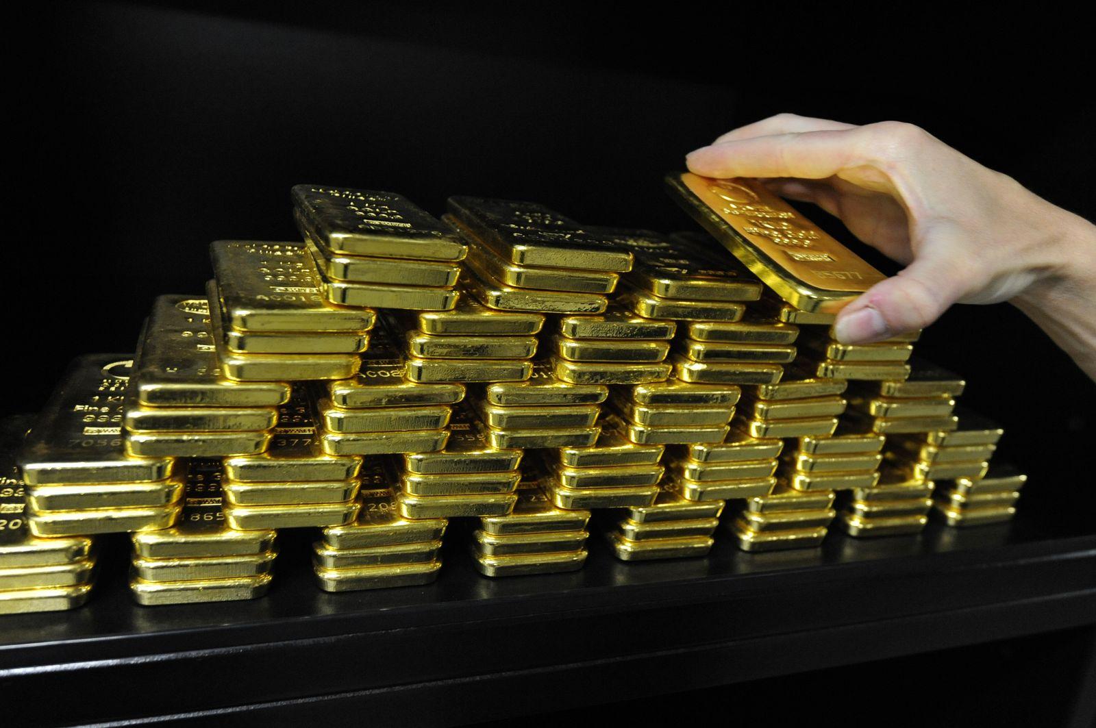 Gold / Goldstapel