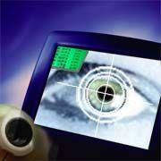 Durchschaut jeden: Kamera mit Iris-Scanner