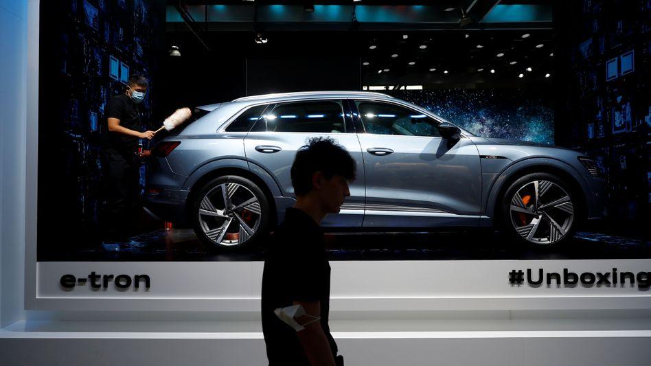 Meistverkauftes Elektroauto unter deutschen Premiumherstellern: Der Audi E-Tron