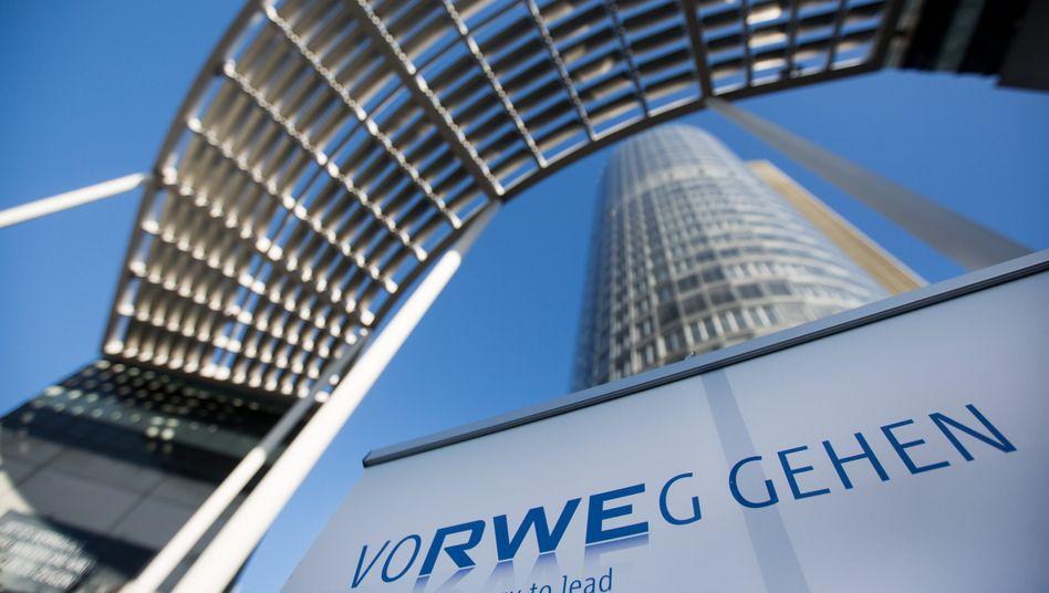 RWE-Zentrale in Essen, Nordrhein-Westfalen: Der Konzern blickt nach einem guten dritten Quartal optimistischer in die Zukunft